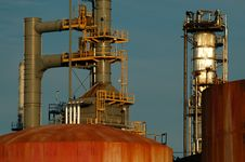 Free Detail Of A Refinery 10 Stock Photo - 1088330