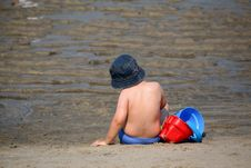 Free Boy In The Beach Stock Images - 1088824