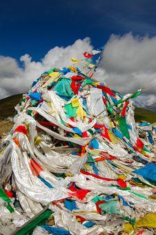 Free Prayer Flags Stock Image - 1088911