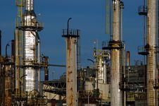 Free Detail Of A Refinery 17 Stock Images - 1089084