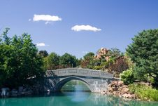 Stone Bridge Royalty Free Stock Photography