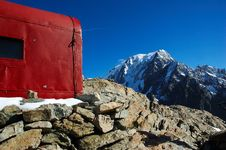 Free Mountain Hut Royalty Free Stock Photography - 1089717