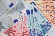 Free Euro Cash Royalty Free Stock Image - 1089776