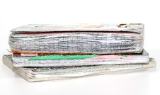 Old Notebooks Royalty Free Stock Photo