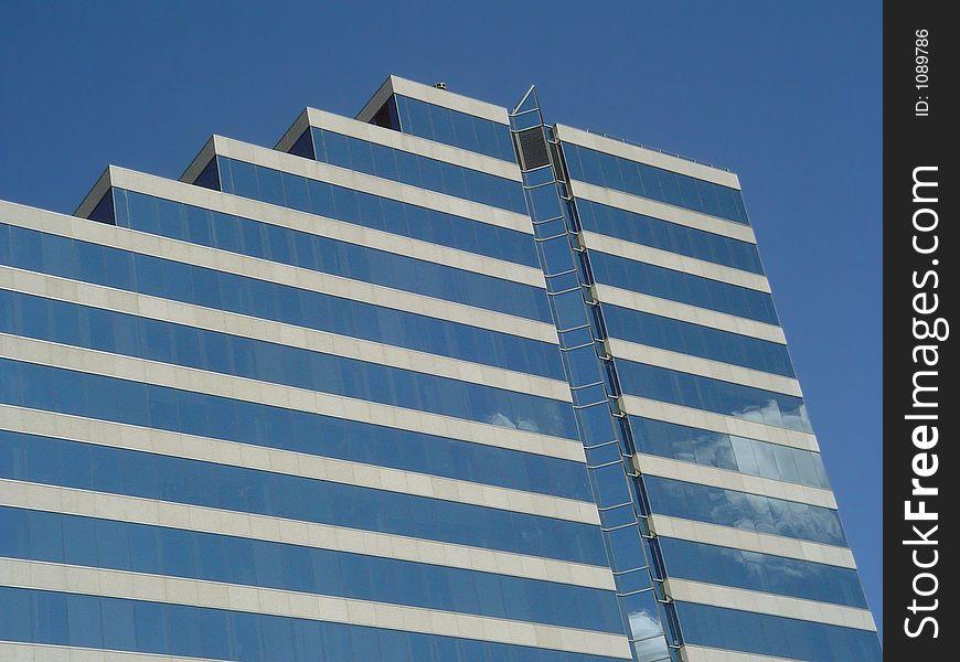 Corporative glass facade