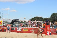 Free Sports, Team Sport, Beach Volleyball, Beach Stock Image - 108042251