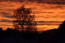 Free Sky, Red Sky At Morning, Afterglow, Sunset Royalty Free Stock Photo - 108042655