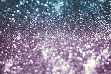 Purple And Silver Glitter Filtered Royalty Free Stock Image