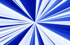 Blue Abstract Lines Stock Images