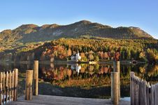 Free Nature, Mountainous Landforms, Reflection, Mountain Royalty Free Stock Photography - 108316517