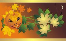 Halloween. Abstract Composition For Banner Stock Image