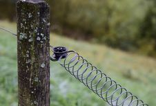 Free Wire Fencing, Fence, Grass, Tree Royalty Free Stock Photo - 108523385