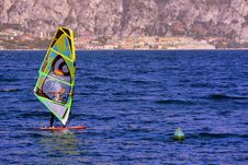 Free Windsurfing, Water, Wind, Boardsport Royalty Free Stock Images - 108523829