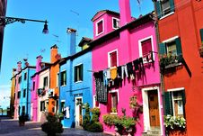 Free Town, Pink, Neighbourhood, House Stock Images - 108523844