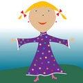 Free Happy Little Girl Stock Photos - 10873233