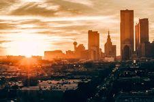 Free Bird S Eye View Of City During Sunset Stock Photos - 108798663