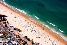 Free Bird S Eye View Of Beach During Summer Stock Photos - 108798923