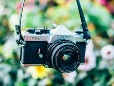 Free Close-Up Photography Of Camera Stock Image - 108799051