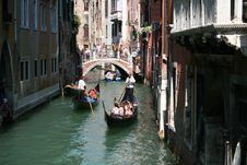Free Waterway, Gondola, Canal, Water Transportation Royalty Free Stock Image - 108957496