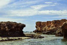 Free Coast, Sea, Sky, Rock Stock Photos - 108957923