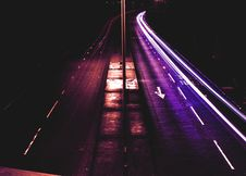 Free Time Lapse Photography Of Roadway Royalty Free Stock Photos - 108995598