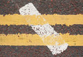 Free Two Yellow Lines Stock Image - 1091471