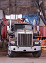 Free Working Truck Royalty Free Stock Image - 1097616