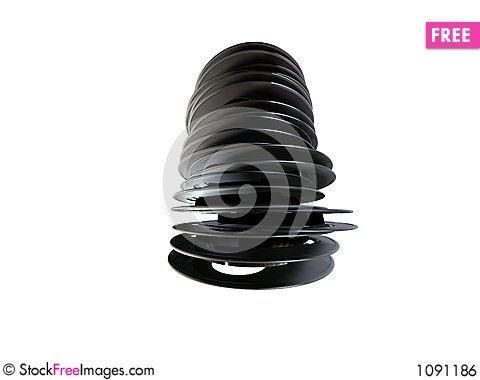 Free 3d Film Reel Royalty Free Stock Image - 1091186