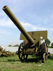 Free Big Heavy Gun Royalty Free Stock Images - 1090939