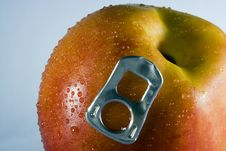 Peach (nectarine) Royalty Free Stock Images