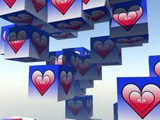 Free Cube Love 9 Stock Photo - 1092270