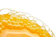 Free Bubbles Of Orange Juice Stock Photo - 1092430