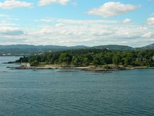 Free Oslofjord Royalty Free Stock Photo - 1092935