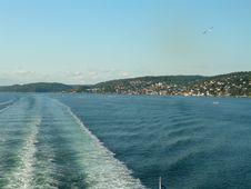 Free Oslofjord Stock Photography - 1092982