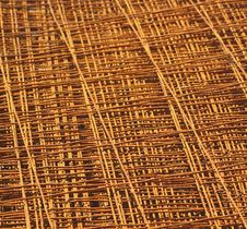 Free Layers Of Rusty Mesh Stock Image - 1093601