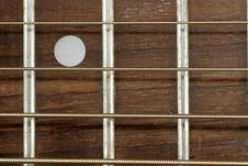 Free Guitar Close Up Royalty Free Stock Photos - 1093748
