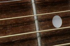 Free Guitar Close Up Royalty Free Stock Photos - 1093778