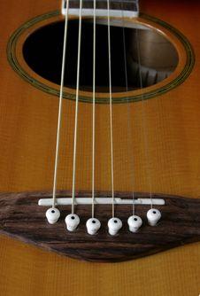 Free Guitar Close Up Royalty Free Stock Photo - 1093835