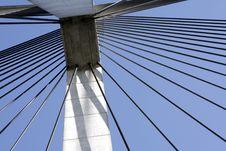 Anzac Bridge Pylon Stock Photo
