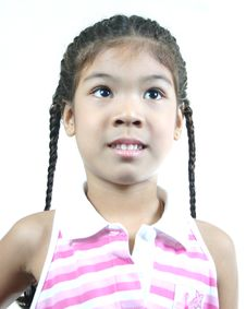 Free Cute Little Girl 81 Stock Photography - 1095282
