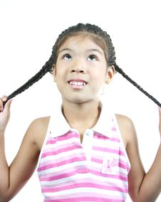 Free Cute Little Girl 86 Royalty Free Stock Photos - 1095288
