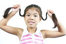 Free Cute Little Girl 2 Stock Photos - 1095293
