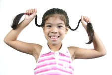 Free Cute Little Girl 3 Royalty Free Stock Photo - 1095295