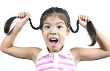 Free Cute Little Girl 5 Royalty Free Stock Images - 1095299