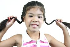 Free Cute Little Girl 7 Stock Photography - 1095302