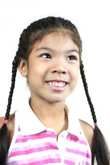 Free Cute Little Girl 36 Stock Image - 1095391