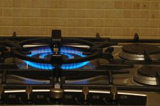 Free Gas Hob Royalty Free Stock Image - 1095416