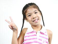 Free Cute Little Girl 34 Stock Image - 1095421