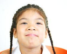 Free Cute Little Girl 79 Stock Image - 1095651