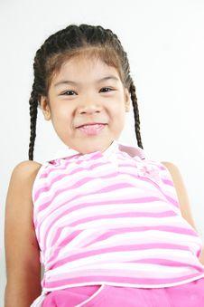 Free Cute Little Girl 89 Stock Image - 1095661